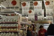 Hệ thống siêu thị Fivimart có khu vực trưng bày riêng hàng Nhật Bản