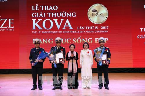 15 năm giải thưởng KOVA: Tôn vinh những người Việt Nam xuất sắc