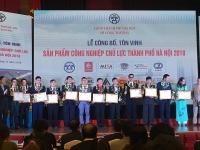 ha noi ton vinh 61 san pham cong nghiep chu luc nam 2018