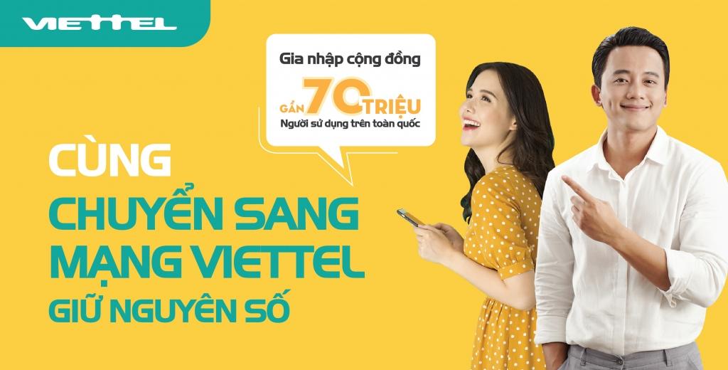 tu 112019 thue bao tra truoc co the chuyen sang mang viettel giu nguyen so
