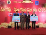 Công đoàn dầu khí Việt Nam tổ chức 'Tết sum vầy - Xuân nghĩa tình Dầu khí'