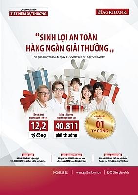 agribank 40000 giai thuong hap dan dang cho don khach hang