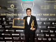 Tổng Giám đốc CapitaLand Việt Nam vinh dự nhận giải Nhân vật Bất động sản của năm