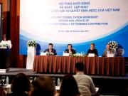 Việt Nam tiến hành rà soát, cập nhật NDC