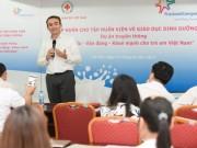 """Tập huấn """"Giáo dục dinh dưỡng và phát triển thể lực cho trẻ em Việt Nam"""""""