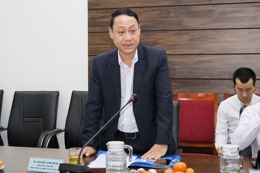 Ông Nguyễn Anh Dũng - Phó Tổng Giám đốc Tổng Công ty Điện lực Thành phố Hà Nội (EVNHANOI)