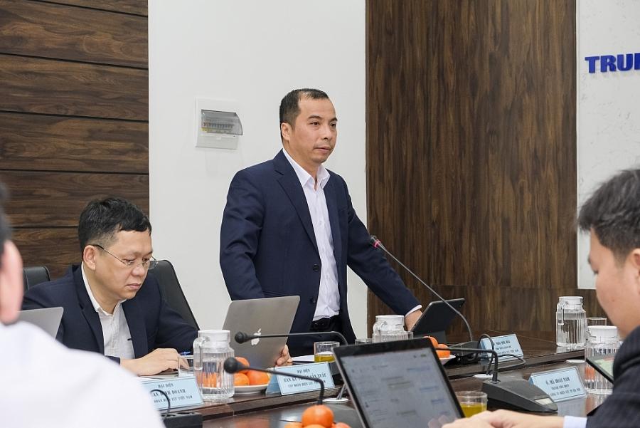 Ông Ngô Sơn Hải - - Phó Tổng giám đốc Tập đoàn Điện lực Việt Nam (EVN)
