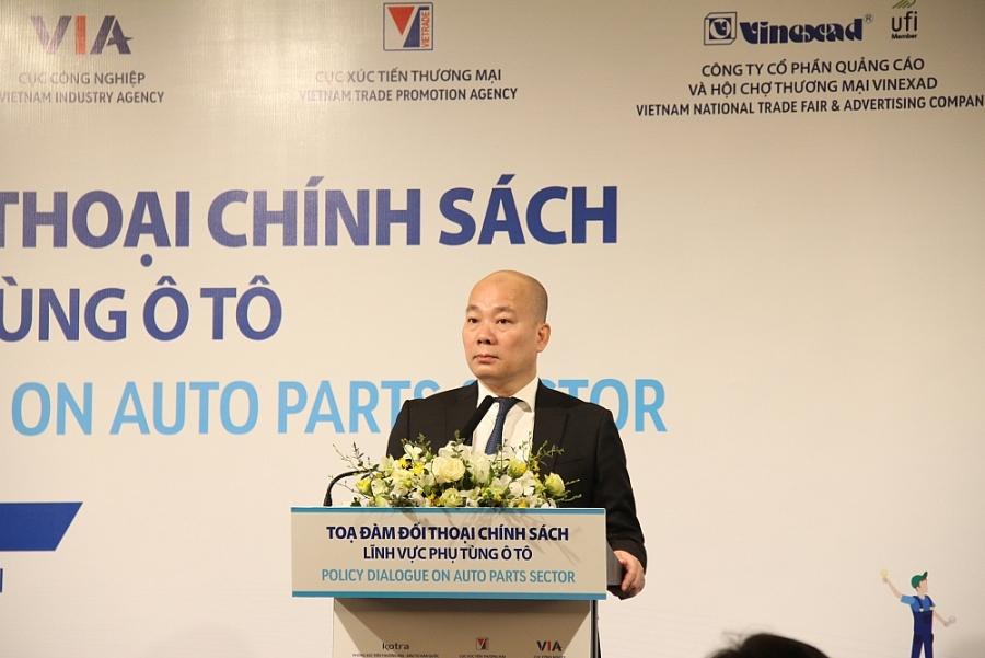 ông Vũ Bá Phú- Cục trưởng Cục Xúc tiên thương mại (Bộ Công Thương)