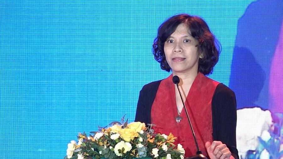 bà Lại Việt Anh – Phó Cục trưởng Cục Thương mại điện tử và Kinh tế số
