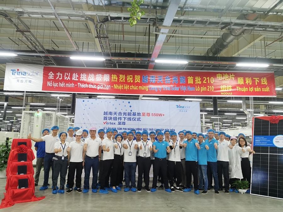 Nhà máy Trina Solar tại Thái Nguyên