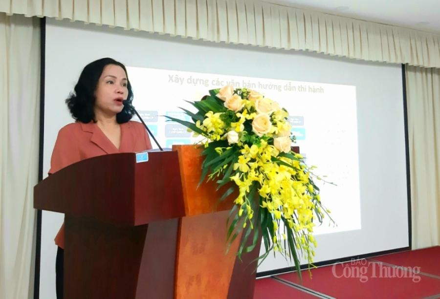 bà Nguyễn Kim Liên- Phó Cục trưởng Cục Hóa chất cho biết
