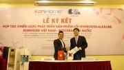 Korihome Việt Nam hợp tác với Hàn Quốc phát triển lõi Hydrogen Alkaline