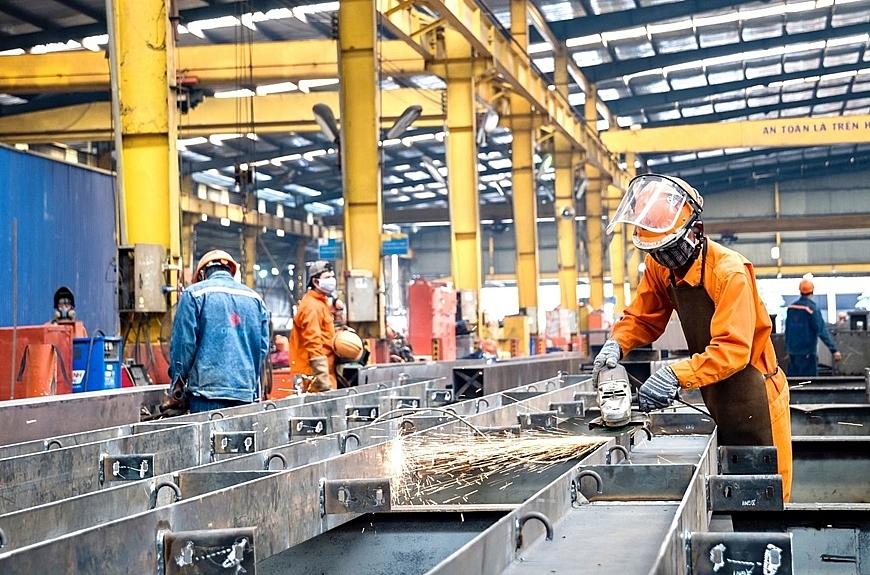 tính chung 8 tháng, chỉ số sản xuất công nghiệp vẫn tăng 5,6% so cùng kỳ năm ngoái