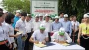 """Panasonic tiếp tục 'hành trình xanh"""" tại Hòa Bình, Quảng Nam và Quảng Ngãi"""