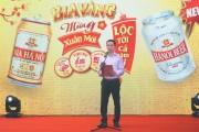 Bia Hà Nội khuyến mại Tết 2018 'Bia vàng mừng xuân tới – Lộc tới cả năm vui'