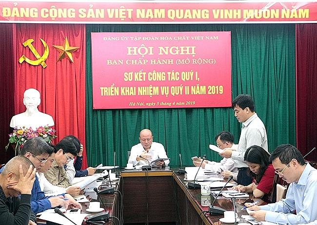 dang bo tap doan hoa chat viet nam dong hanh cung doanh nghiep vuot qua kho khan