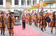 Lễ dâng hương khai xuân tại Hoàng thành Thăng Long
