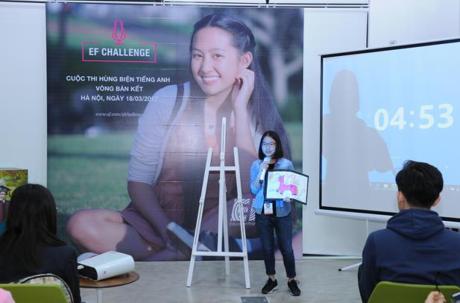 Thi Hùng biện tiếng Anh toàn cầu EF Challenge năm 2017