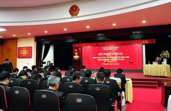 Thanh tra Bộ Công Thương tổ chức quán triệt Luật Tố cáo năm 2018