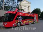 Hà Nội mở tuyến bus du lịch 2 tầng