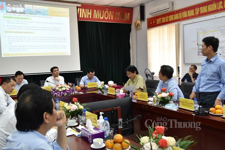 Bộ trưởng Nguyễn Hồng Diên kiểm tra tiến độ dự án Nhiệt điện Thái Bình 2
