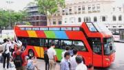 Hà Nội vận hành thử nghiệm xe bus 2 tầng