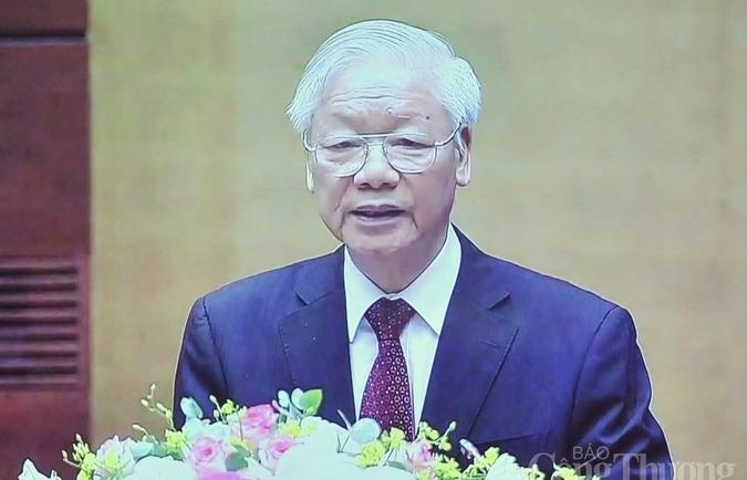 Tổng Bí thư Nguyễn Phú Trọng: Thúc đẩy việc học tập Bác trở thành lối sống, nếp nghĩ, cách làm của từng cán bộ, đảng viên và người dân