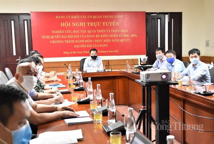 Đảng ủy Khối cơ quan Trung ương quán triệt Nghị quyết Đại hội XIII của Đảng bộ Khối