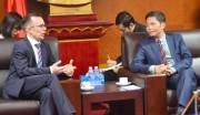 Bộ trưởng Trần Tuấn Anh tiếp Đại sứ New Zealand tại Việt Nam