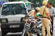 Được sử dụng bản sao chứng thực đăng ký xe khi tham gia giao thông