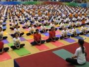 Cuộc thi Yoga cộng đồng Việt Nam lần thứ nhất - 2015