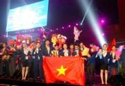 Đoàn Việt Nam xếp thứ ba toàn toàn tại Kỳ thi tay nghề ASEAN
