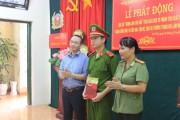 Thăm hỏi các chiến sĩ bị thương khi tham gia chữa cháy tại Hà Nội