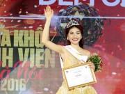 Nữ sinh quân đội đoạt danh hiệu iMiss Thăng Long