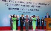 Đại học Việt Nhật sẽ đào tạo 6 ngành thạc sĩ