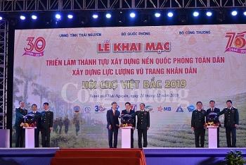 trien lam hoi cho viet bac 2019 lan toa thong diep nen quoc phong vi hoa binh