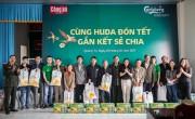 Công ty bia Carlsberg tặng 7.000 suất quà Tết cho 6 tỉnh miền Trung