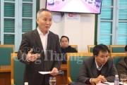Thứ trưởng Trần Quốc Khánh làm việc với Quảng Ninh về hoạt động thương mại biên giới