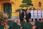 Lễ đón chính thức Thủ tướng Nhật Bản Shinzo Abe