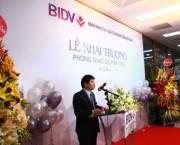 BIDV khai trương phòng giao dịch cung cấp dịch vụ trọn gói