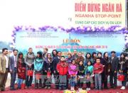 Hà Giang đón vị khách du lịch quốc tế đầu tiên năm 2018