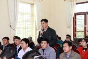 Bộ trưởng Bộ Nội vụ Lê Vĩnh Tân khảo sát, thẩm định Đề án thành lập Đơn vị HC-KT đặc biệt tại Vân Đồn