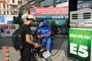 Giá bán xăng E5 có sự hỗ trợ của nhà nước