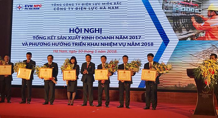 PC Hà Nam: Năm 2018, phấn đấu sản lượng điện thương phẩm đạt 2,73 tỷ kWh