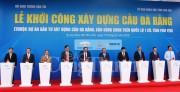 Thủ tướng Nguyễn Xuân Phúc nhấn nút khởi công cầu Đà Rằng mới