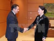 Chủ tịch Quốc hội Nguyễn Thị Kim Ngân tiếp Chủ tịch Thượng viện Mexico