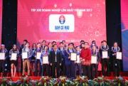 Đạm Cà Mau đạt TOP VNR500 năm 2017