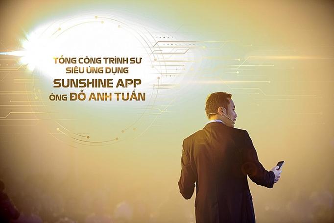 ra mat sunshine app khach hang trung tien ty