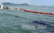 Giảm ô nhiễm môi trường nhờ hệ thống hút và xử lý dầu tràn trên biển