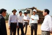 Kiểm tra đột xuất dự án xây dựng biệt thự, khách sạn tại TP. Hạ Long